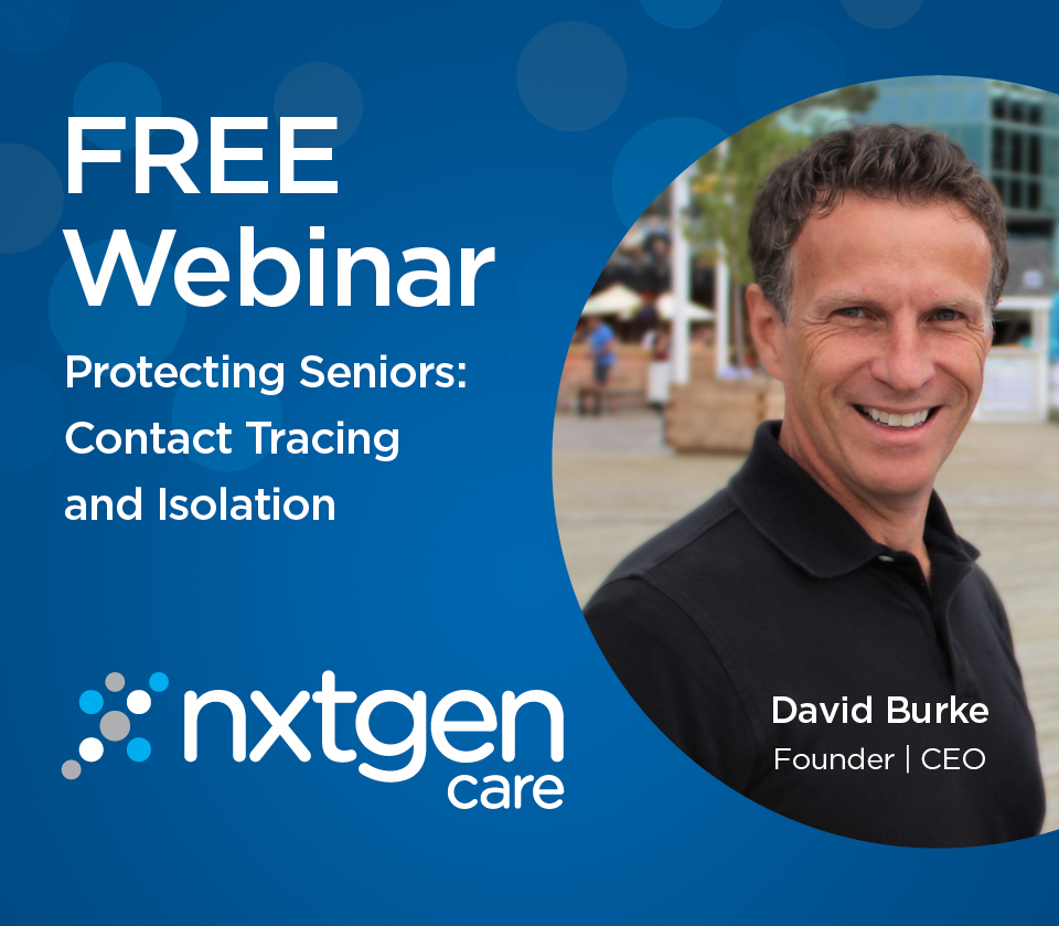 David Burke Hosts a webinar on Contact Tracing & Isolation